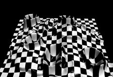Checkered texture Stock Image