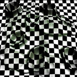 Checkered texture Stock Images