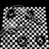 Checkered texture Royalty Free Stock Images