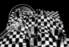 Checkered texture Royalty Free Stock Photos