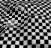 Checkered texture Royalty Free Stock Image
