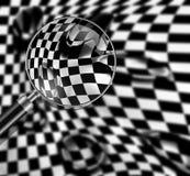 Checkered texture Stock Photo