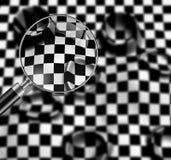Checkered texture Stock Photos
