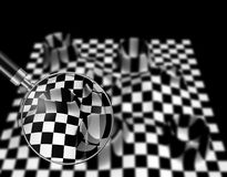 Checkered texture Royalty Free Stock Photo
