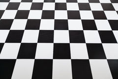 Checkered tile floor Royalty Free Stock Images