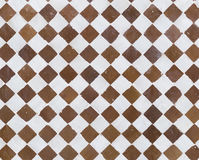 Checkered tiles Stock Photo