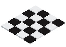 Checkered Tiles - vector Royalty Free Stock Images