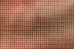 Checkered tissue background of red, white and gray. Small cell Royalty Free Stock Photo