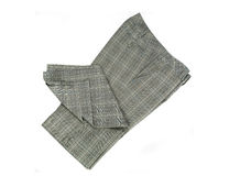 Checkered trousers Stock Photography