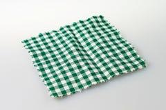 Checkered Tuch stockfoto