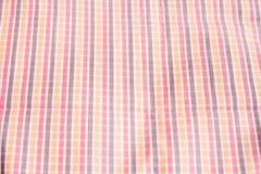 Checkered Tuch Stockbild