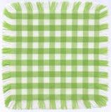 Checkered vert photo libre de droits