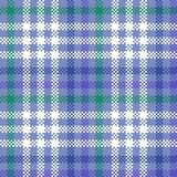 Checkered violet green white blue pattern Royalty Free Stock Photography