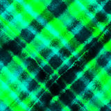 Checkered watercolor background Stock Photography