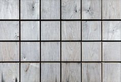 Checkered wood pattern. grey wooden planks natural textured back Royalty Free Stock Images