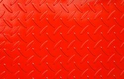 Checkerplate pintado Imágenes de archivo libres de regalías
