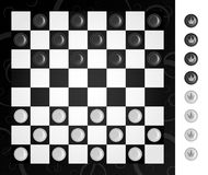 Checkers Royalty Free Stock Photos