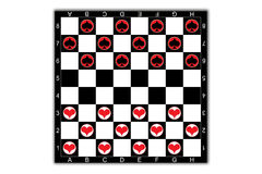 checkers Fotografia Royalty Free
