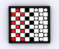 Checkers - 3D Stock Images