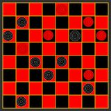 checkers Obraz Royalty Free