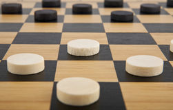 Checkers. The a checkers as background Stock Photos