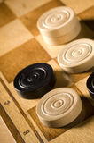 Checkers or draughts Royalty Free Stock Photo