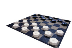 Checkers Game  Royalty Free Stock Photography