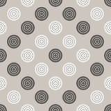 Checkers pattern. Seamless vector game background with black and Royalty Free Stock Images