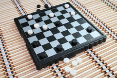 Checkers. Stock Photography