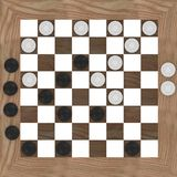 Checkers (top) Stock Photo