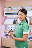 Checking assortment Stock Photos