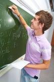 Checking homework Stock Photo