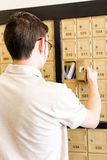 Checking mail Stock Image