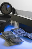 Checking of money Royalty Free Stock Photography