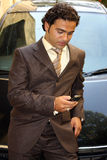 Checking Phonecalls Royalty Free Stock Image