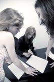 Checking tests Stock Photo