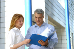 Free Checking The Report. Stock Photography - 1557482