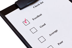Checklist Stock Photography