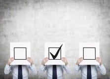 checklist Photo stock