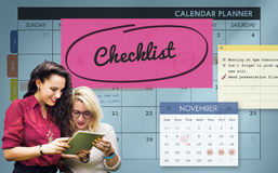 Checklist Appointment Schedule Event Concept Royalty Free Stock Image