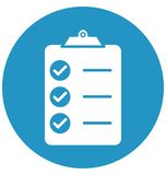 Checklist, Business tasks Isolated Vector Icon can be easily edit and modify vector illustration