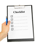 Checklist and Clipboard Stock Photos
