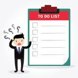 Checklist Concept Stock Photo