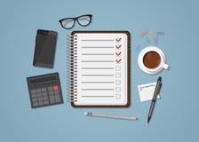 Checklist stock illustration
