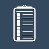 Checklist  icon Stock Images