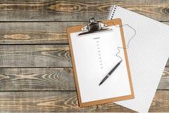 Checklist. Organization criteria Clipboard Scrutiny List Finishing Stock Photos