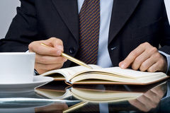 Checklist questionnaire quality of service Stock Photos