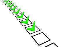 Checklistenkonzept Lizenzfreie Stockfotos