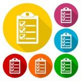 Checkmark ikona Zdjęcie Royalty Free