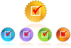 Checkmark - Label Stock Images